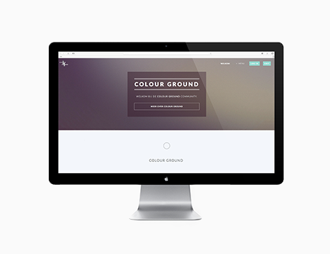 Colourground website
